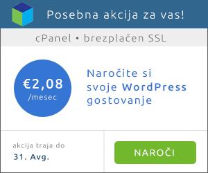 Poceni WordPress gostovanje