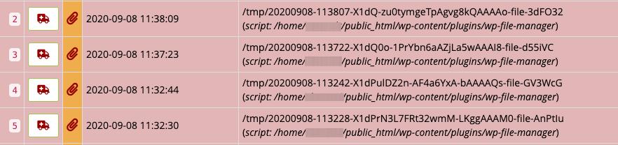 Primer Hostko napredne zaščite ki aktivno blokira poskusite exploita