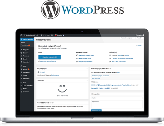 WordPress gostovanje